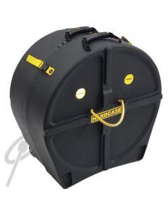 Hardcase 22 x 14 Marching BD case w/wheels