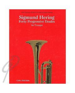 40 Progressive Etudes - Trumpet