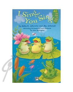 I Sing, You Sing - CD ONLY