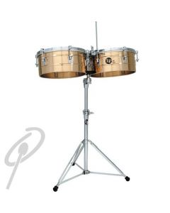 """LP Tito Puente Timbales 14+15"""" Bronze"""
