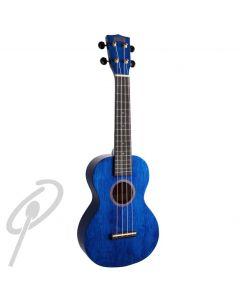 Mahalo Hano Series Concert Uke - Blue