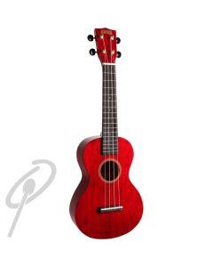 Mahalo Hano Series Concert Uke - Red