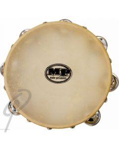 Mano Tambourine - 8inch with Calf Head 7 Pairs of Jingles