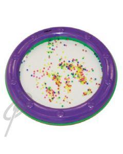 "Mano 8"" Ocean drum-Purple w/colour beads"