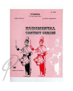 Stamina - Snare Drum Solo