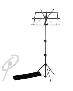 Xtreme Folding Music Stand - Black with Bag