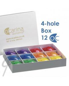 Oc Ocarina Rainbow Starter Box 4-Hole