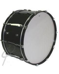 """Optimum Concert Bass Drum 28x14""""- black"""