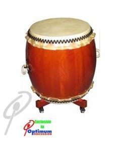 Optimum Taiko Drum - 48 x 62cm Miyadaiko with Stand