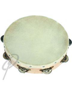 """Optimum 10"""" Tambourine w/ superior Head"""