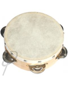 """Optimum 6"""" Tambourine w/ superior Head"""