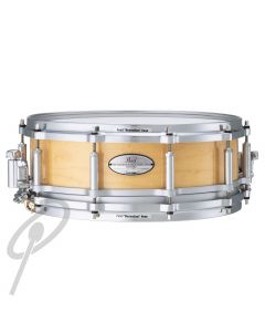 Pearl Snare Drum - 14 x 5inch Free Floating Maple Black