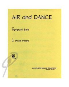 Air and Dance for Timpani Solo