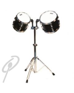 """Powerbeat Concert Toms 8+10"""" with Double Stand"""