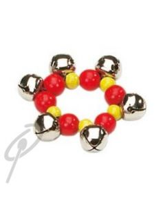 Rohema Wrist/Ankle Bells 10cm red/yellow