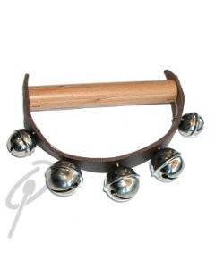 Rohema Sleigh Bells - Wood/Leather D Style