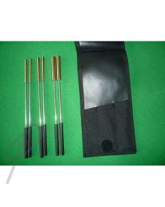 Mastro SET6 Triangle Beaters Set 6 in Pouch