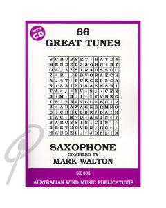 66 Great Tunes for Alto Saxophone with CD